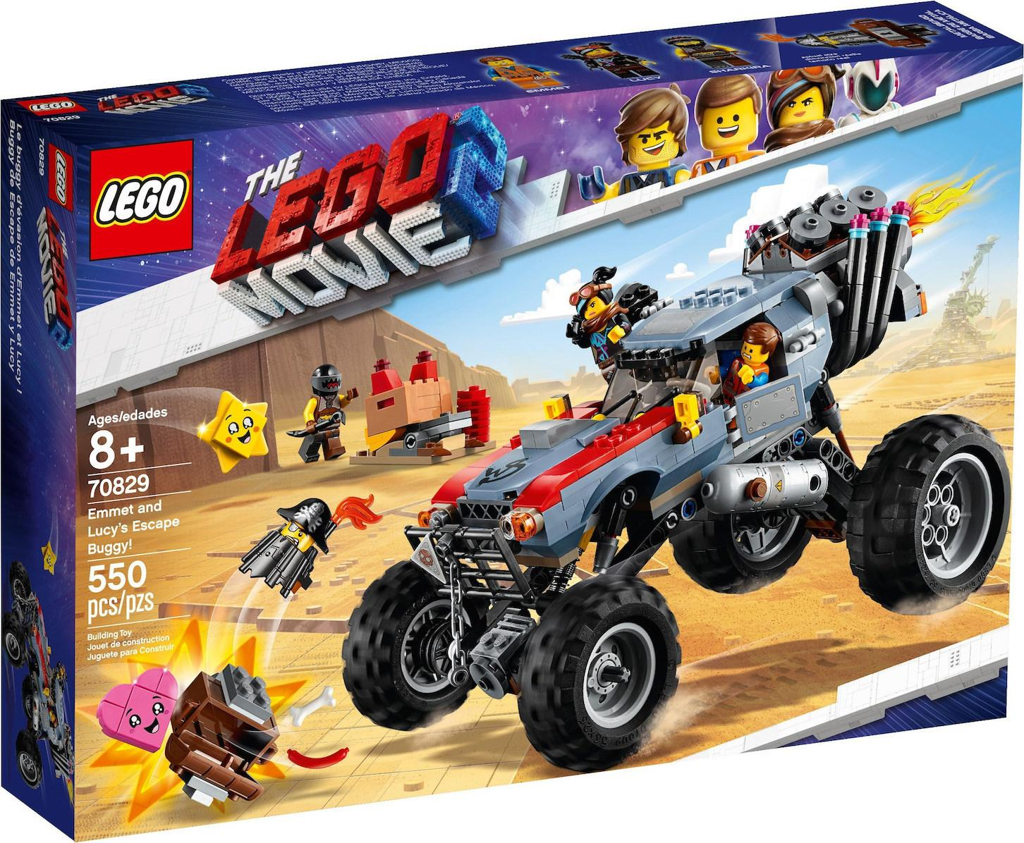 Lego Movie 2 Emmet & Lucy's Escape Buggy! (70829)
