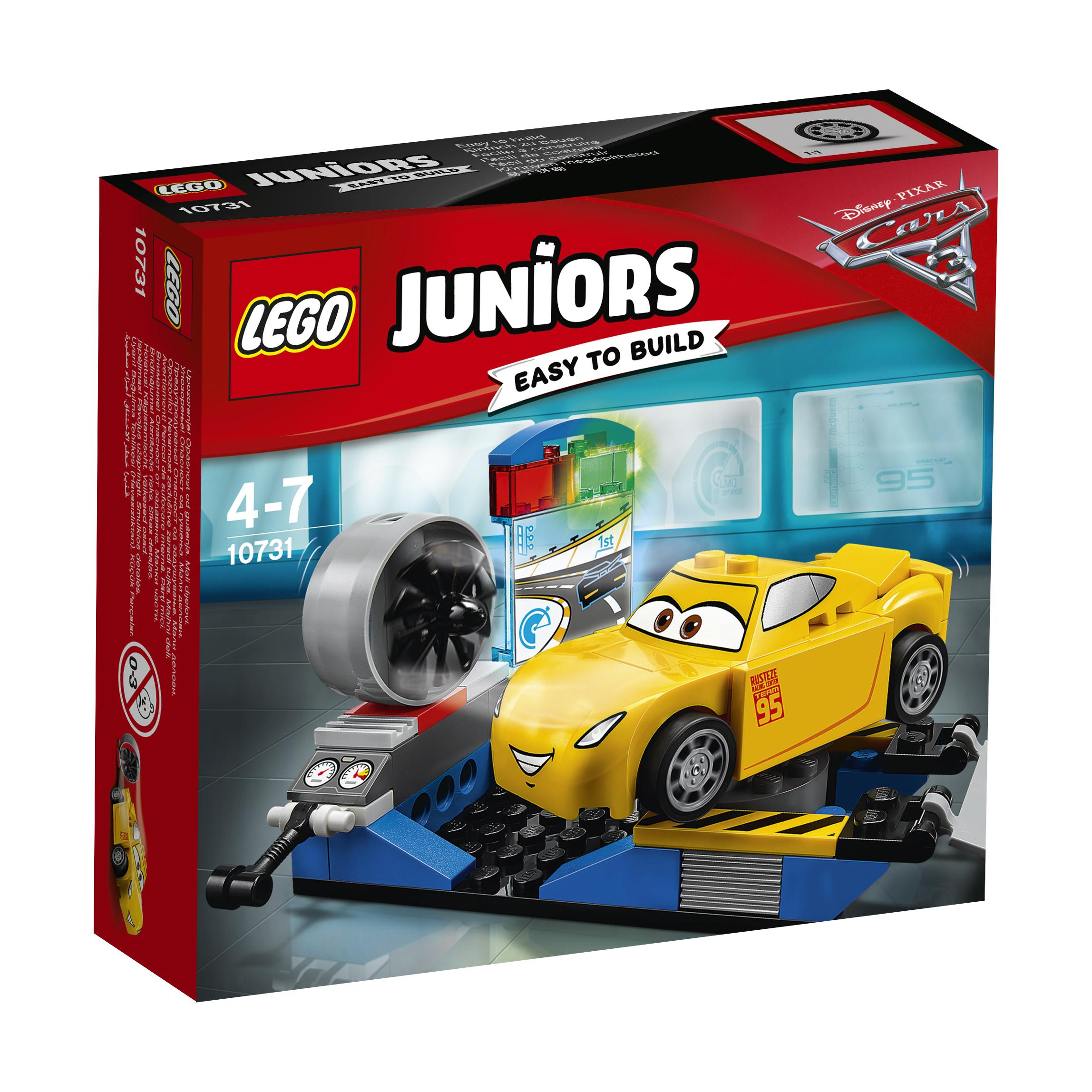 Lego Juniors Cars Cruz Ramirez Race Simulator