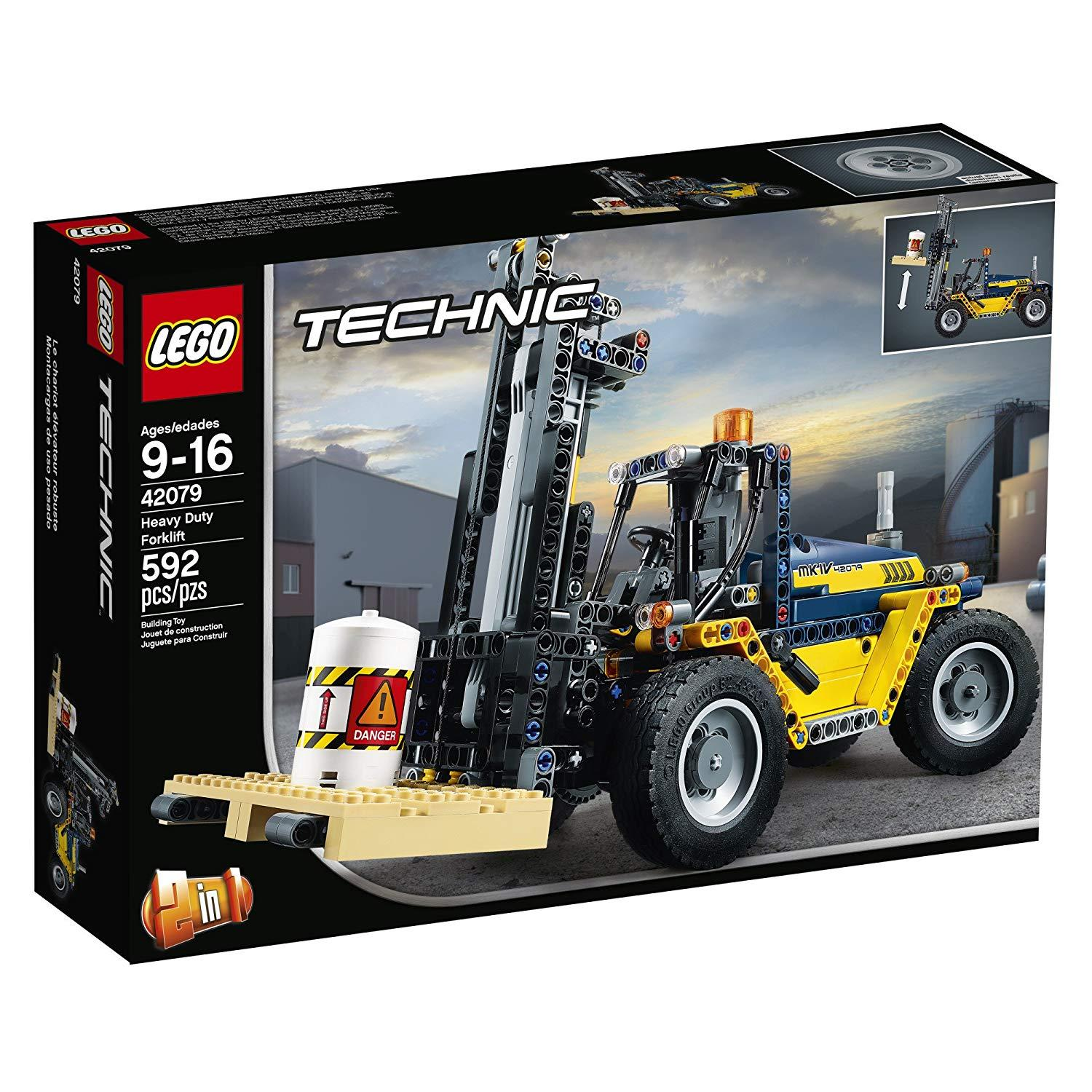 Lego Technic Heavy Duty Forklift (42079)