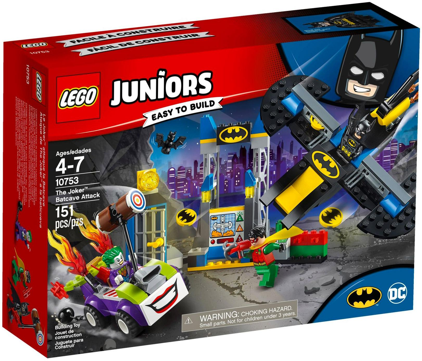 Lego Juniors The Joker Batcave Attack