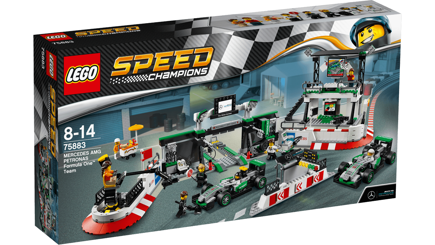 Lego Speed Champions MERCEDES AMG PETRONAS Formula One™ Team