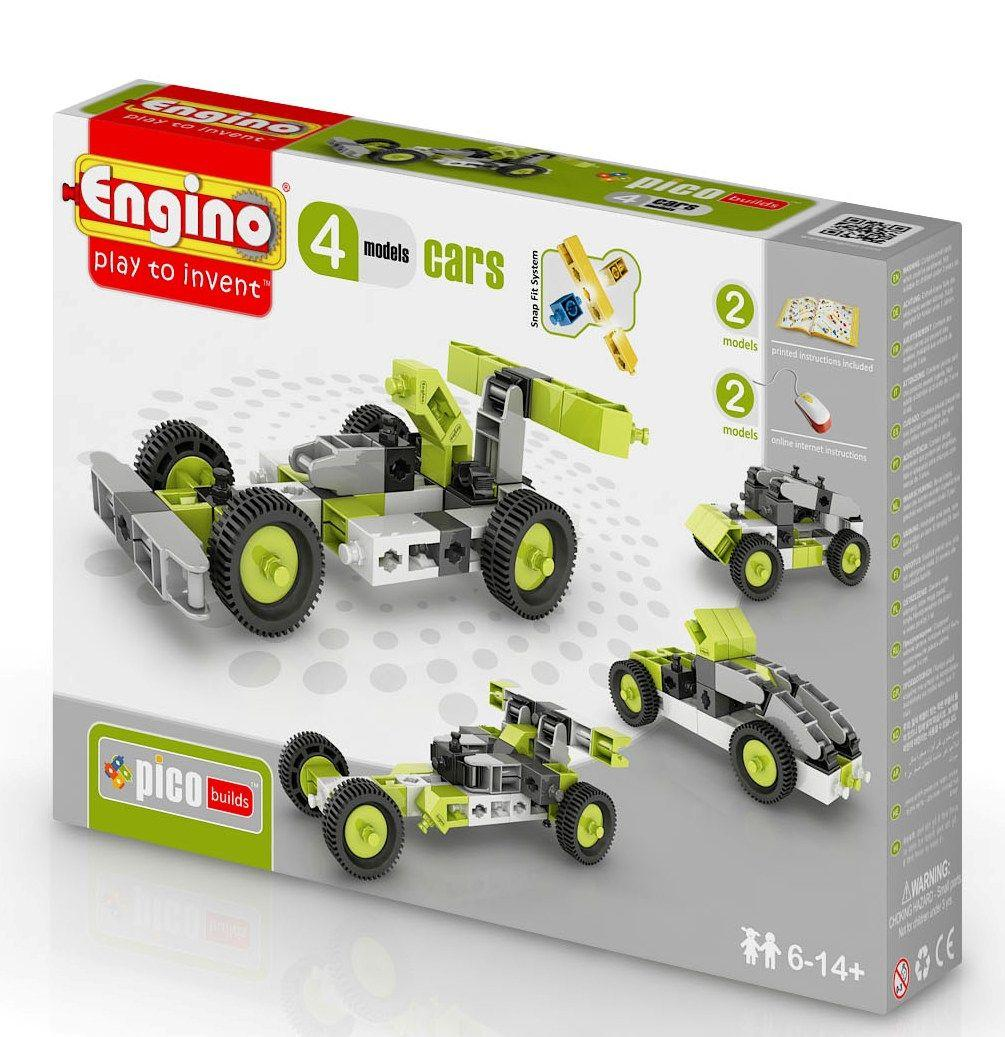 Engino Inventor 4 in 1 Cars (0431)