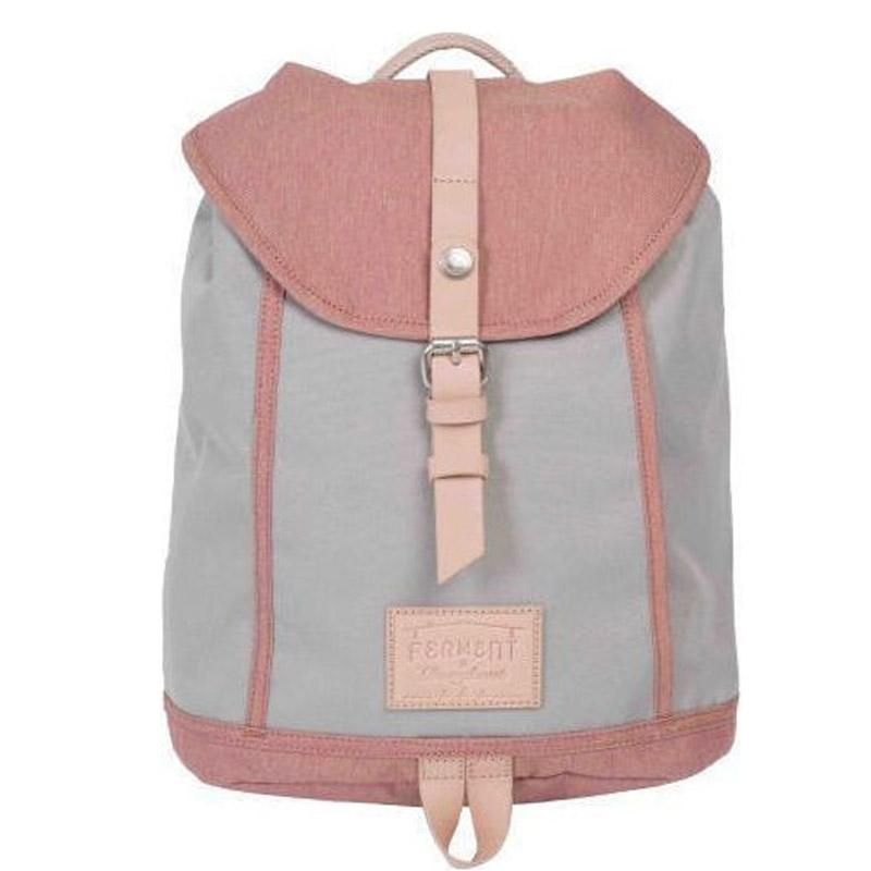 Σακίδιο Doughnut Frement Cambridge Light Grey x Peach (90746)