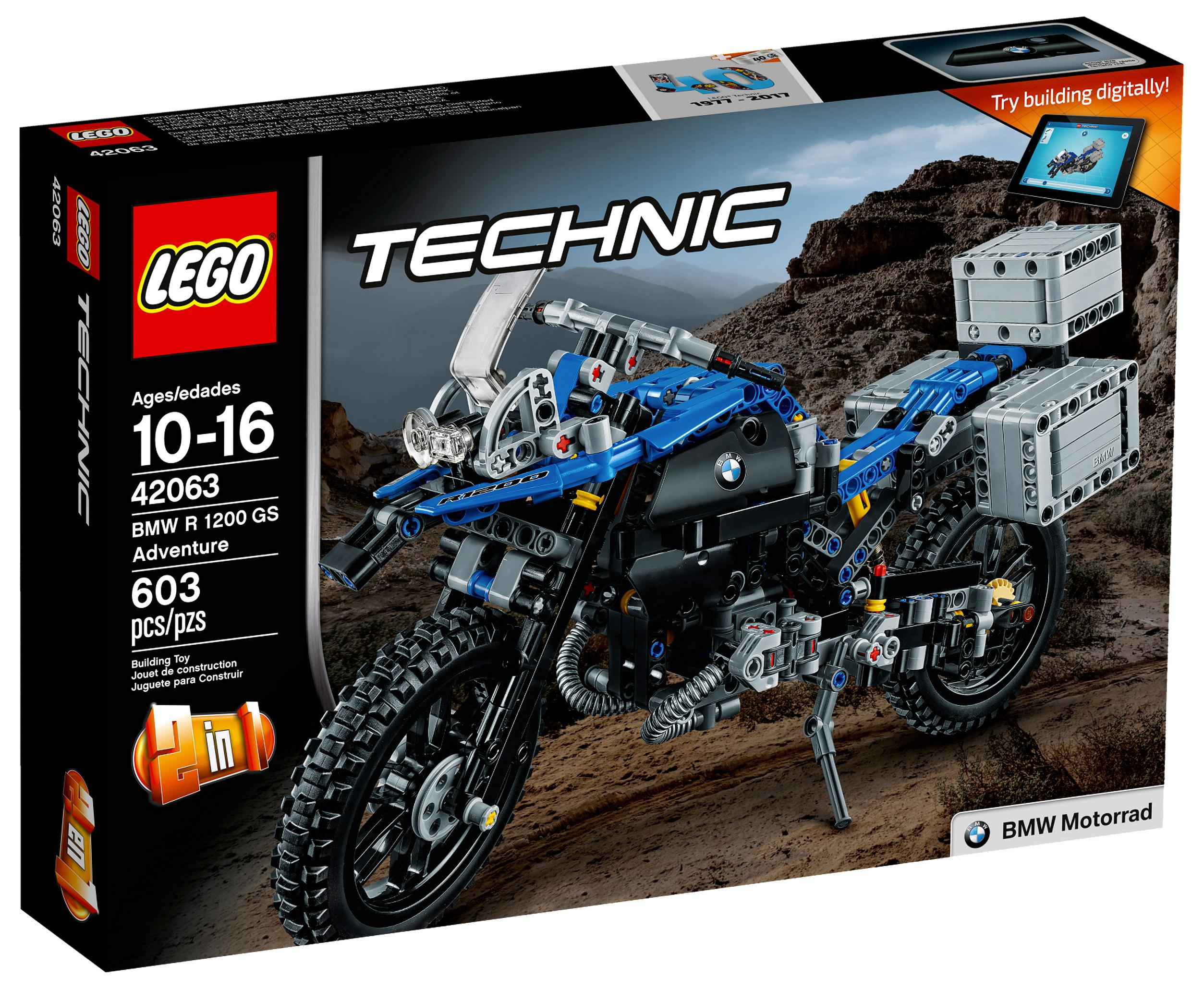 Lego Technic BMW R 1200 GR Adventure