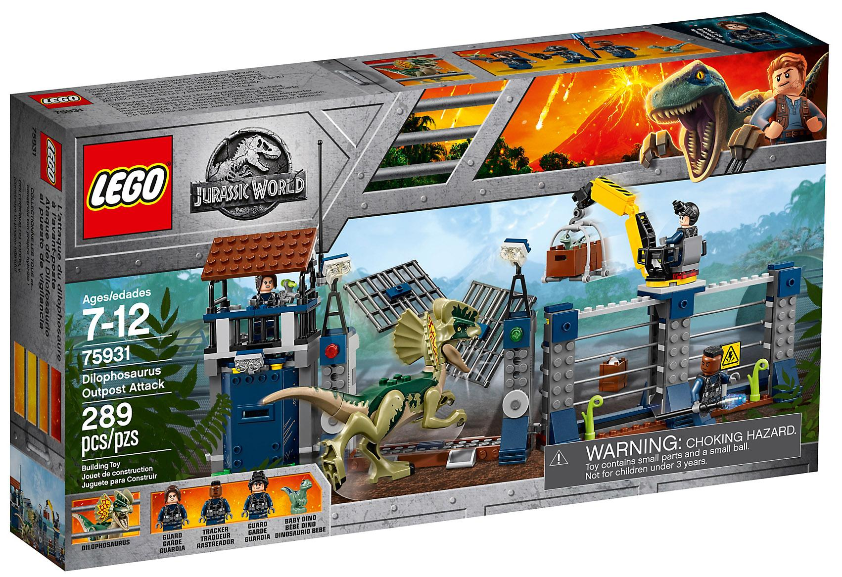 Lego Jurassic World Dilophosaurus Set (75931)