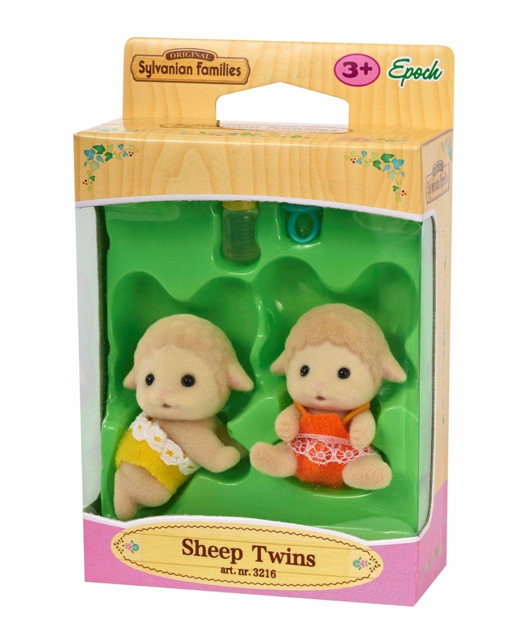 Sylvanian Families Δίδυμα μωρά αρνάκια (3216)