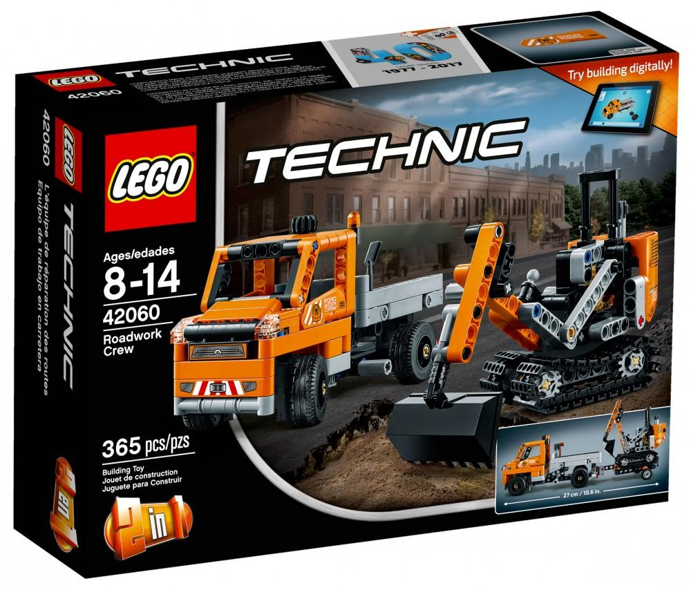 Lego Technic Roadwork Crew