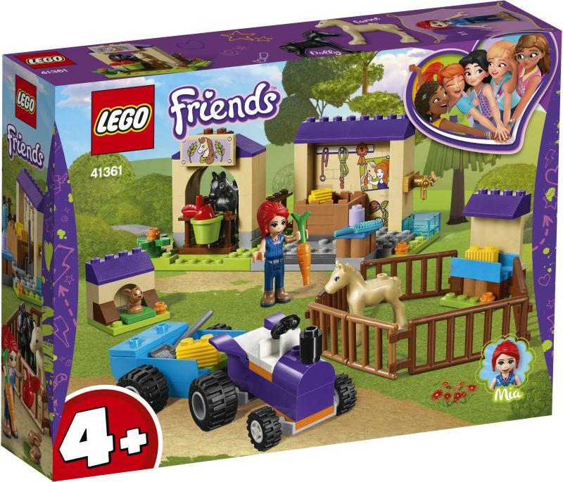 Lego Friends Mia's Foal Stable (41361)