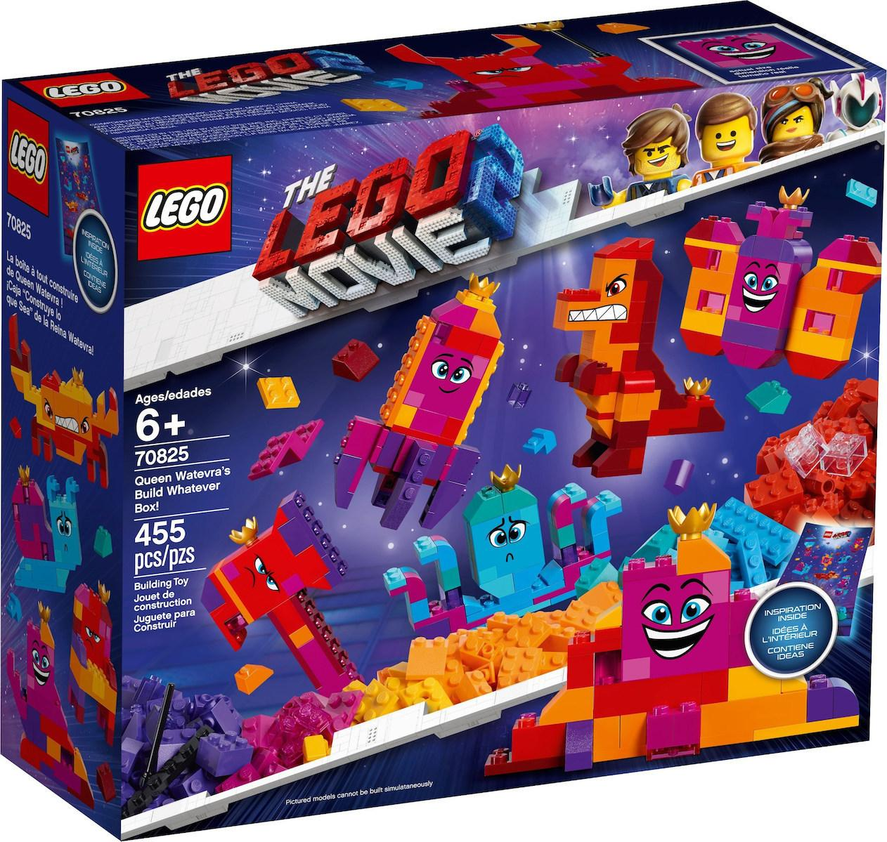 Lego Movie 2 Queen Watevra's Build Whatever Box! (70825)