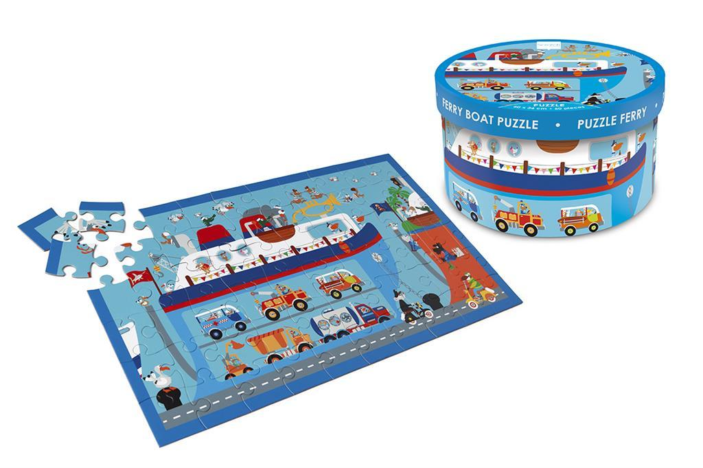 Scratch Puzzle 60τεμ Ferry Boat (6181075)