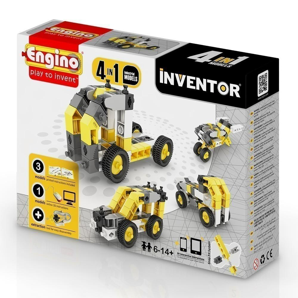Engino Inventor 4 in 1 Industrial Models (0434)