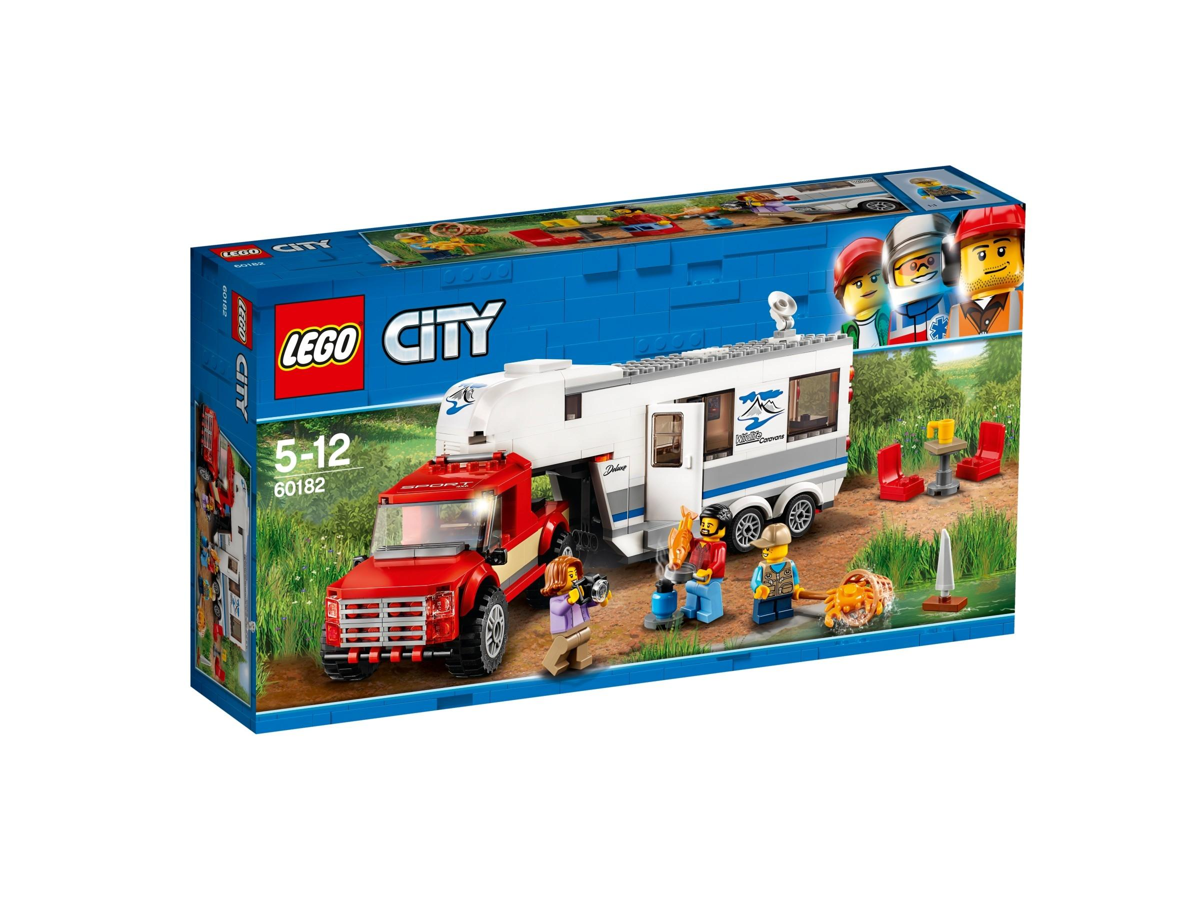Lego City Pickup & Caravan (60182)