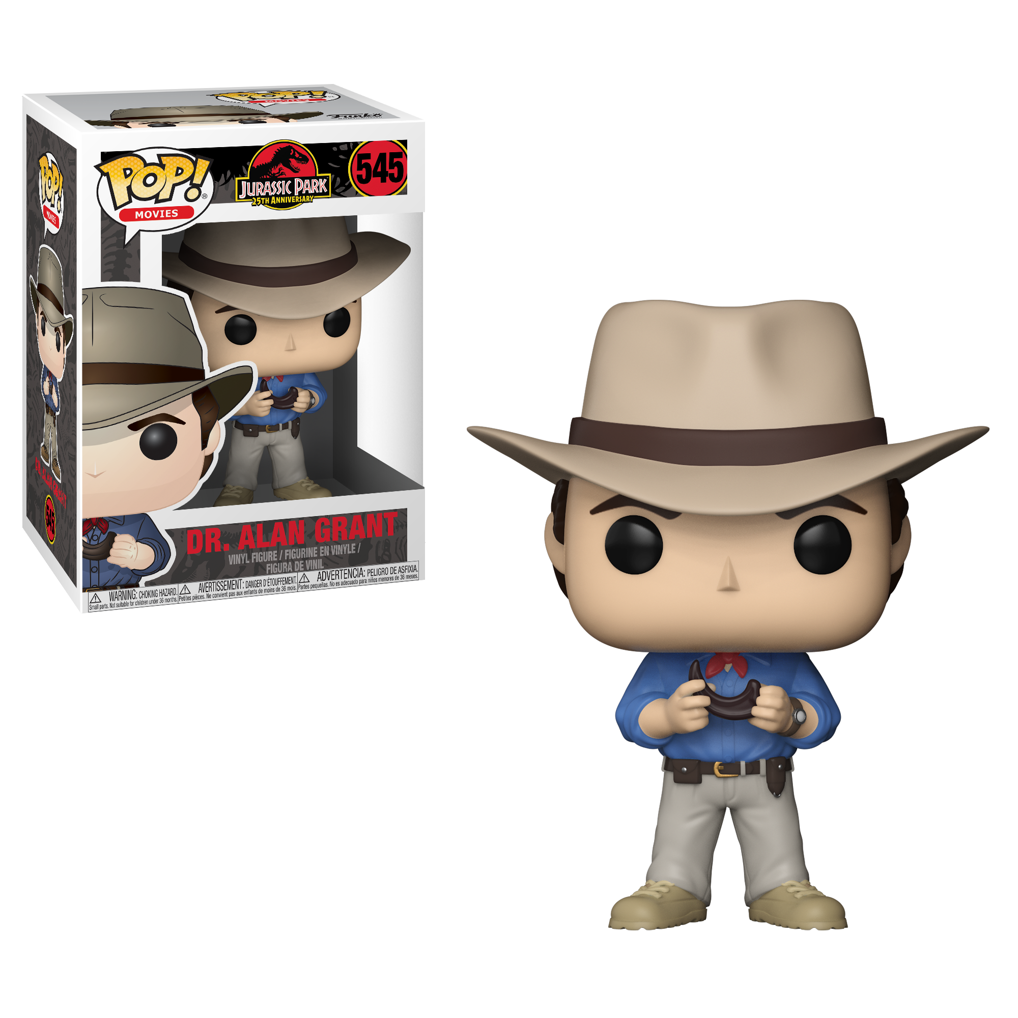 POP! Movies: Jurassic Park - Dr. Alan Grant (545) Vinyl Figure