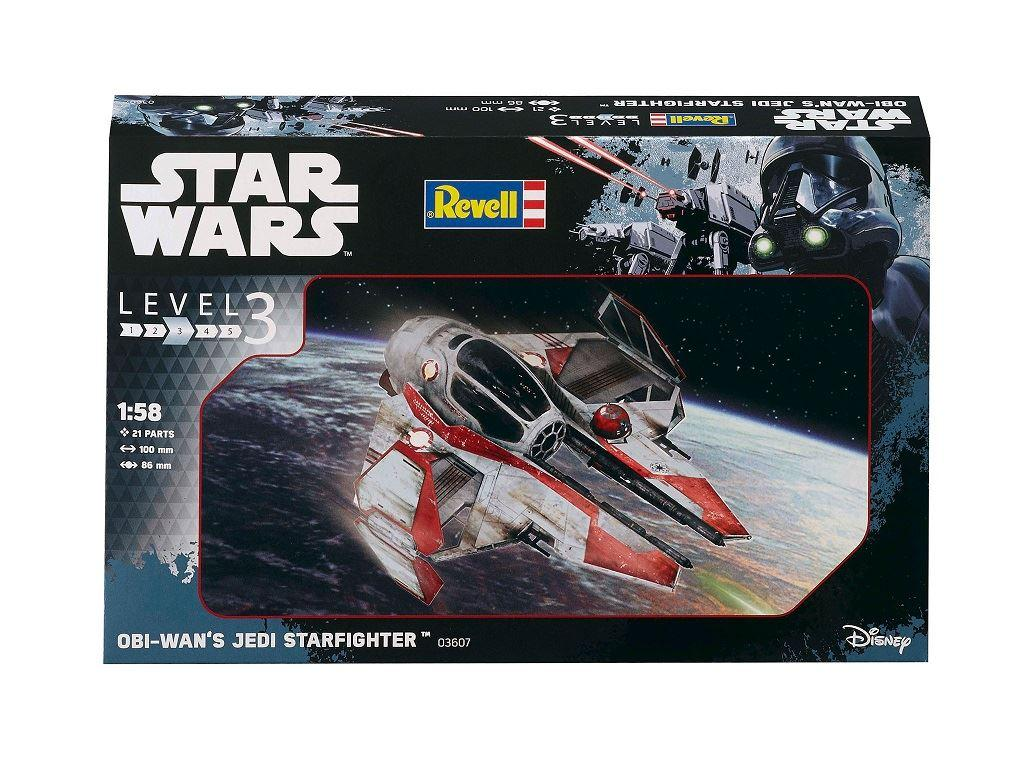 Revell Κατασκευή Star Wars Obi-Wan's Jedi Starfighter (63607)