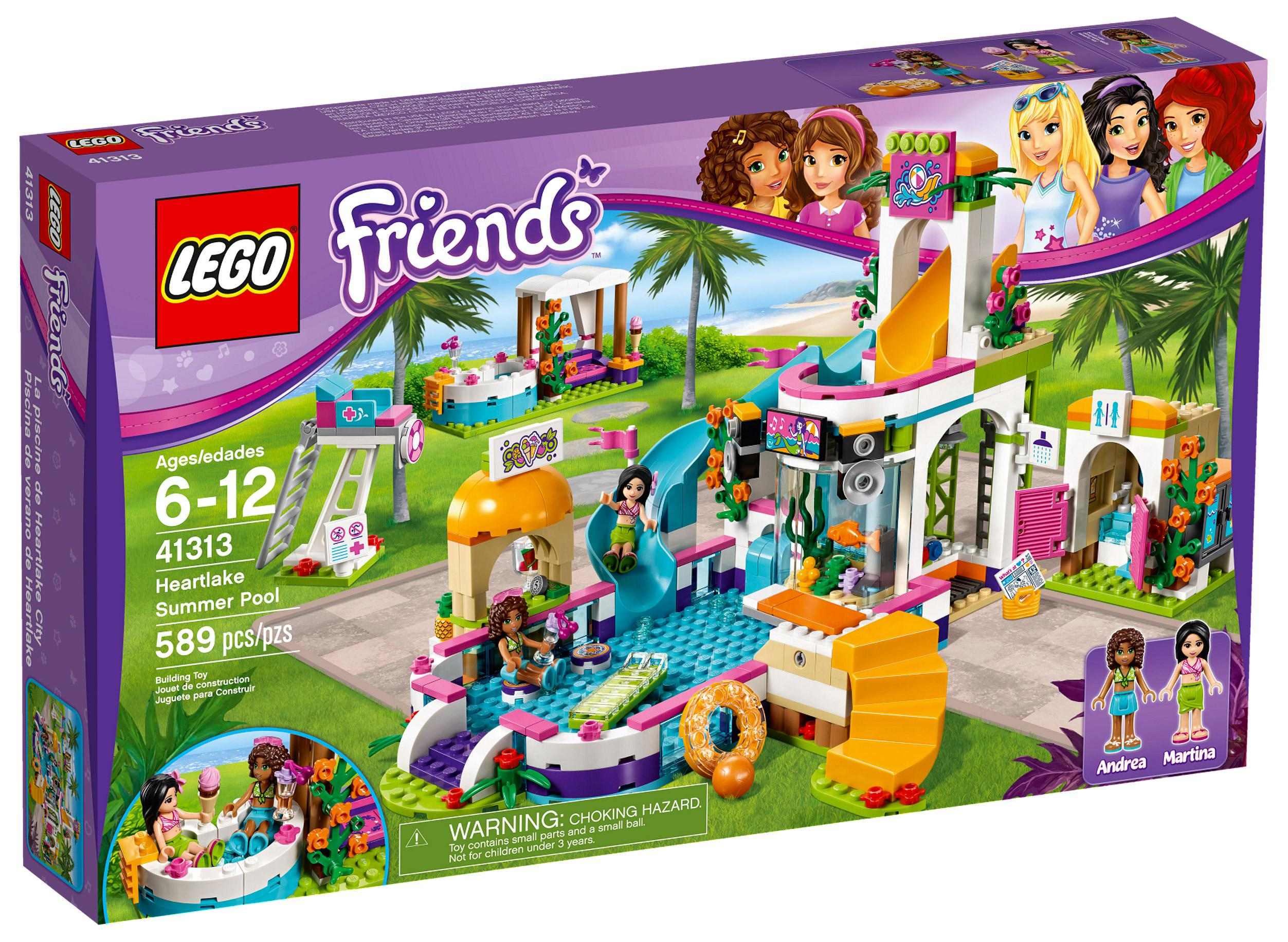 Lego Friends Heartlake Summer Pool (41313)