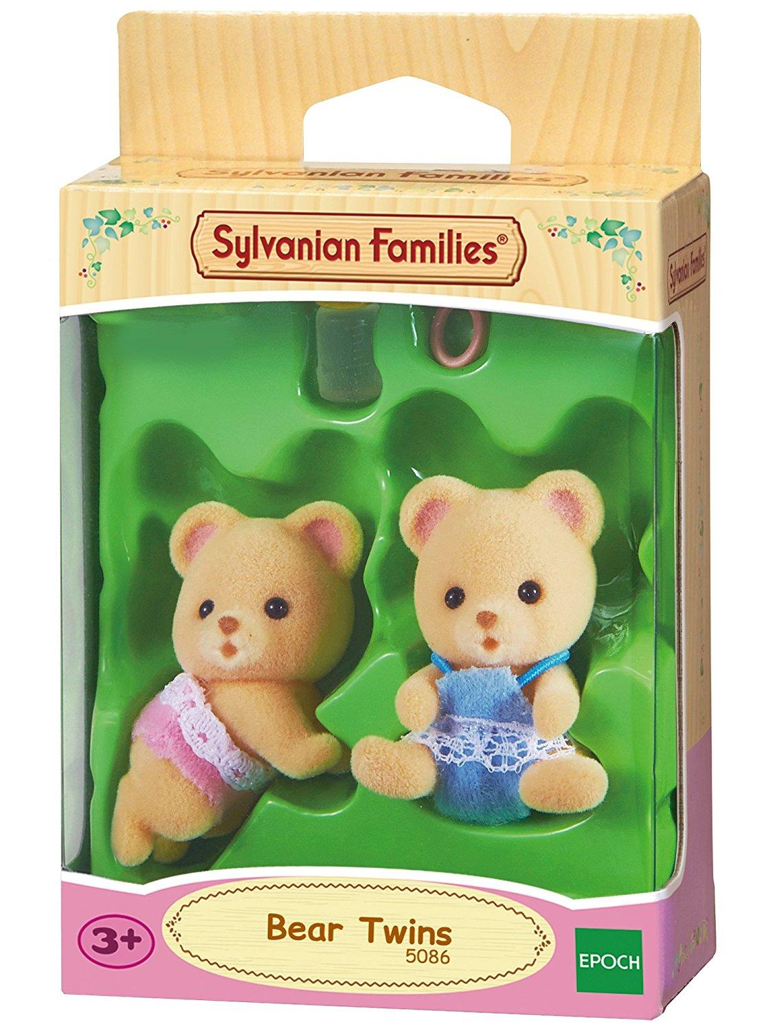 Sylvanian Families Δίδυμα μωρά αρκουδάκια (5086)