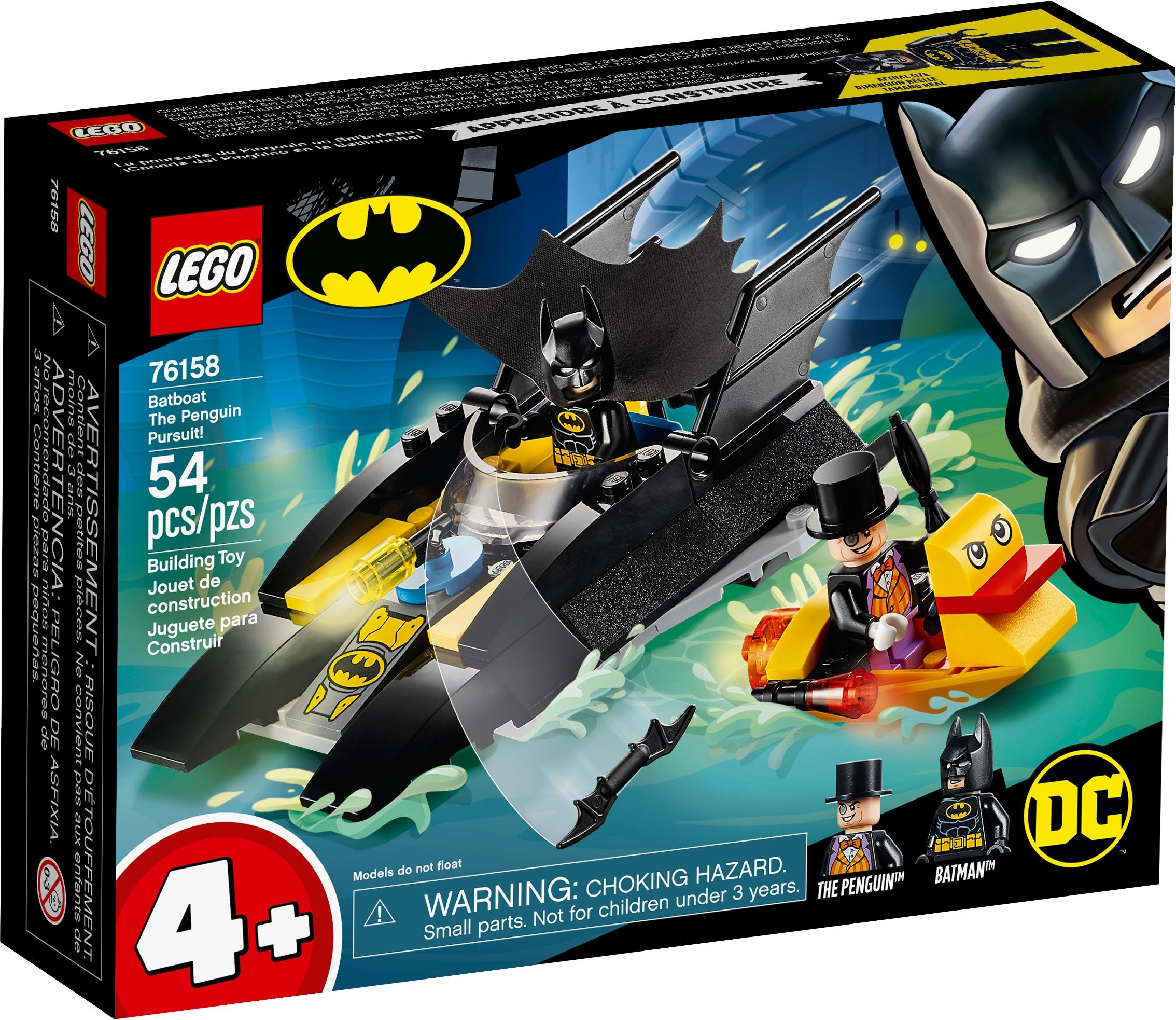 Lego Super Heroes Batboat The Penguin Pursuit (76158)