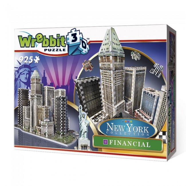 3D puzzle New York Collection - Financial