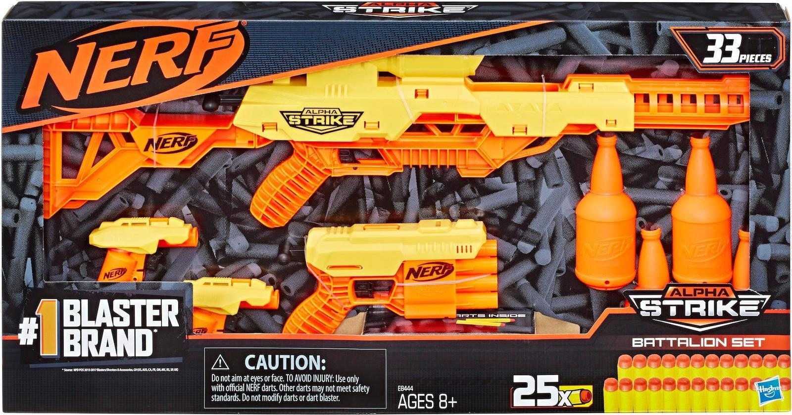 Nerf Alpha Strike Battalion Set (E8444)