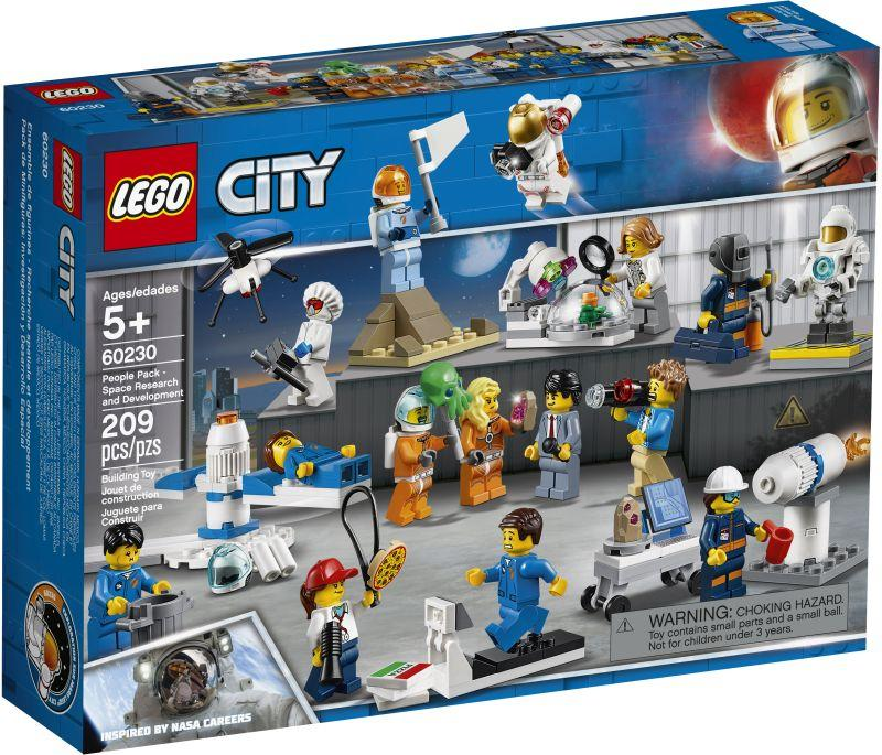 Lego City People Pack-Space Research & Development (60230)