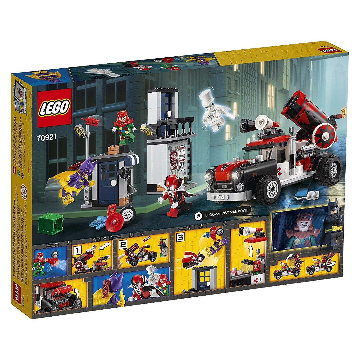Lego Batman Movie Harley Quinn Cannonball Attack (70921)