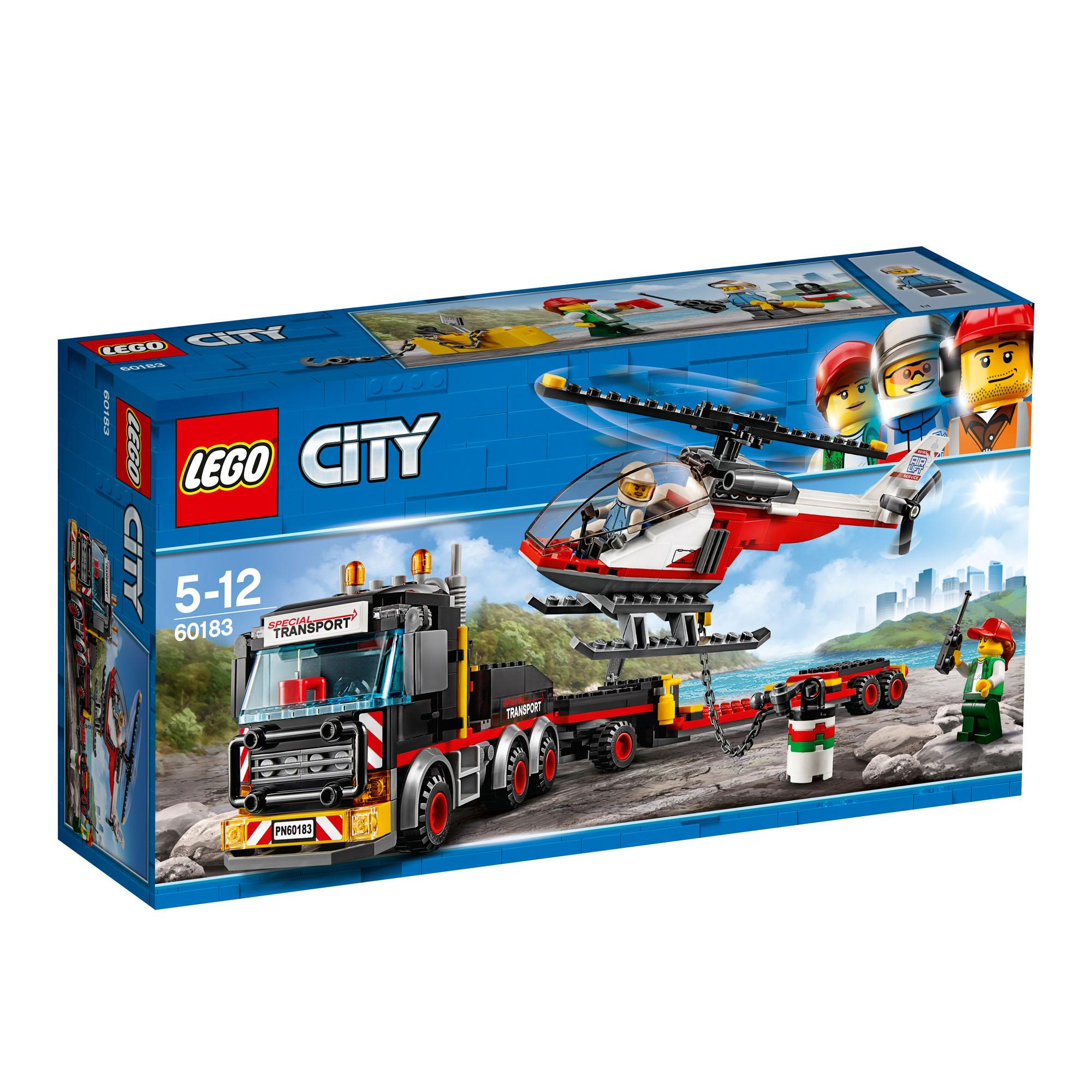 Lego City Heavy Cargo Transport (60183)