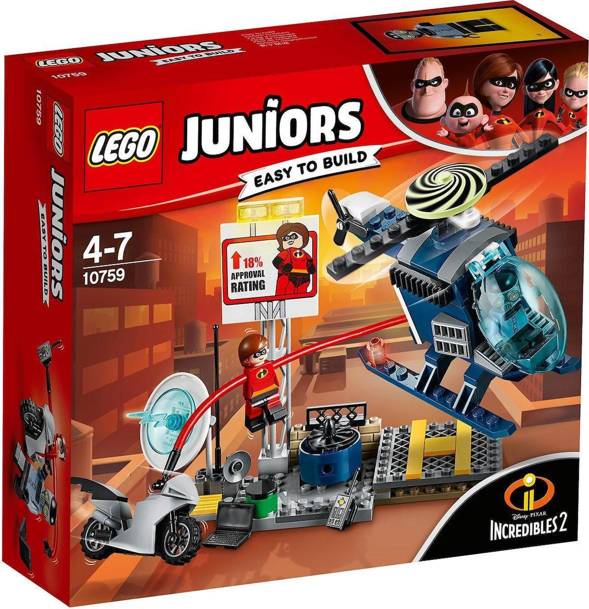 Lego Juniors Elastigirl's Rooftop Pursuit (10759)